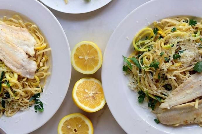 اسپاگتی با سس دریایی