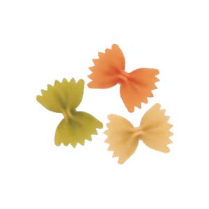 Farfalle Mix Vegetables             (Tricolor)