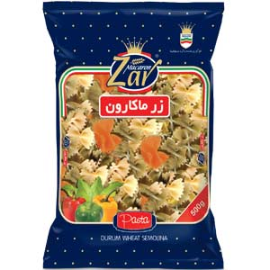 Farfalle Mix Vegetables         (Tricolor) - box