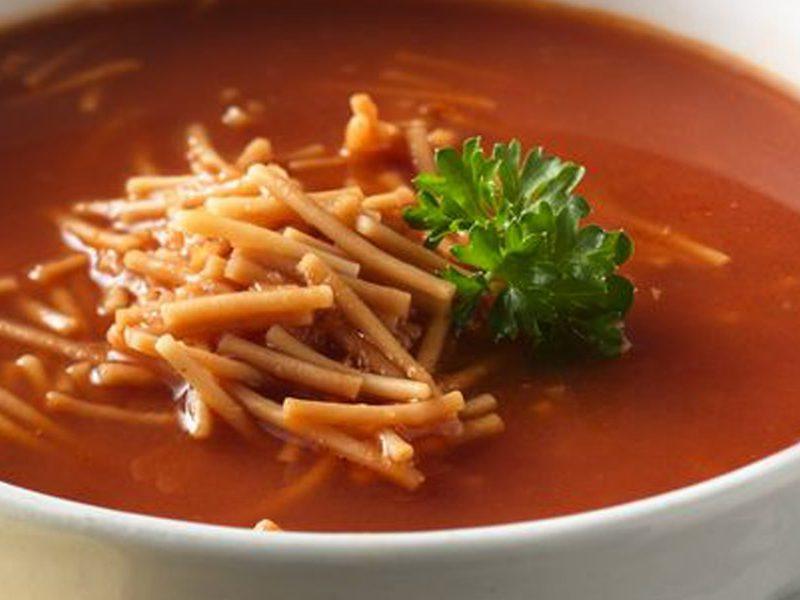 سوپ گوجهفرنگی ایتالیایی