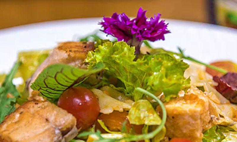 سالاد پاستا با ماهی تن