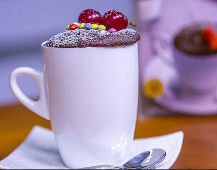 ماگ کیک کاکائویی