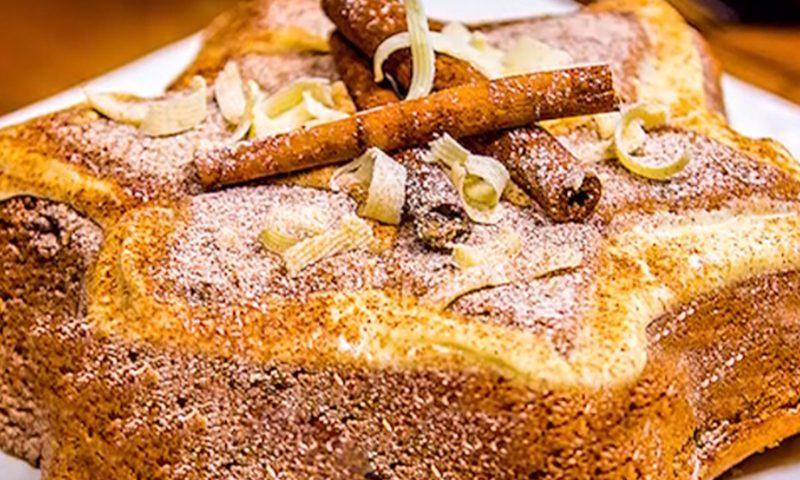 کیک دارچینی با کشمش