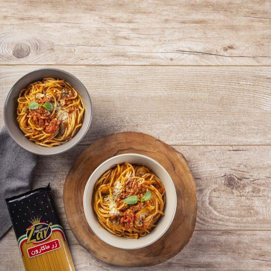 طرز تهیه اسپاگتی با سس گوشت