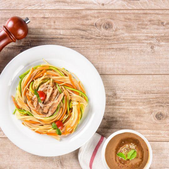 طرز تهیه اسپاگتی چینی