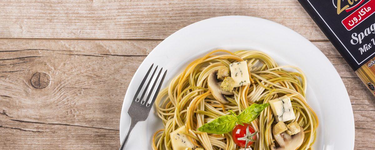 طرز تهیه اسپاگتی با پنیر بلوچیز