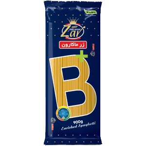 اسپاگتی قطر 1.5 حاوی ویتامین B زر ماکارون