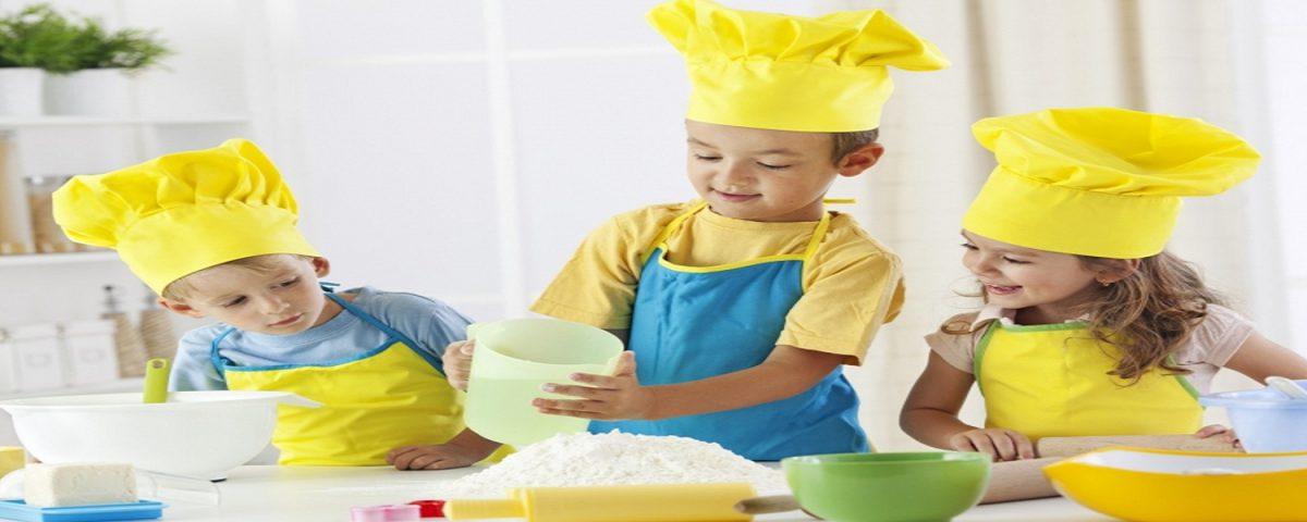 ایجاد سرگرمی با آشپزی برای کودکان